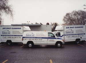 All of our cleaning vehicles
