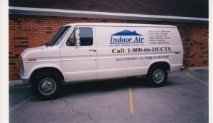First Air Duct Cleaning Truck