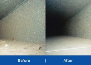 Before - After Air Duct Cleaning