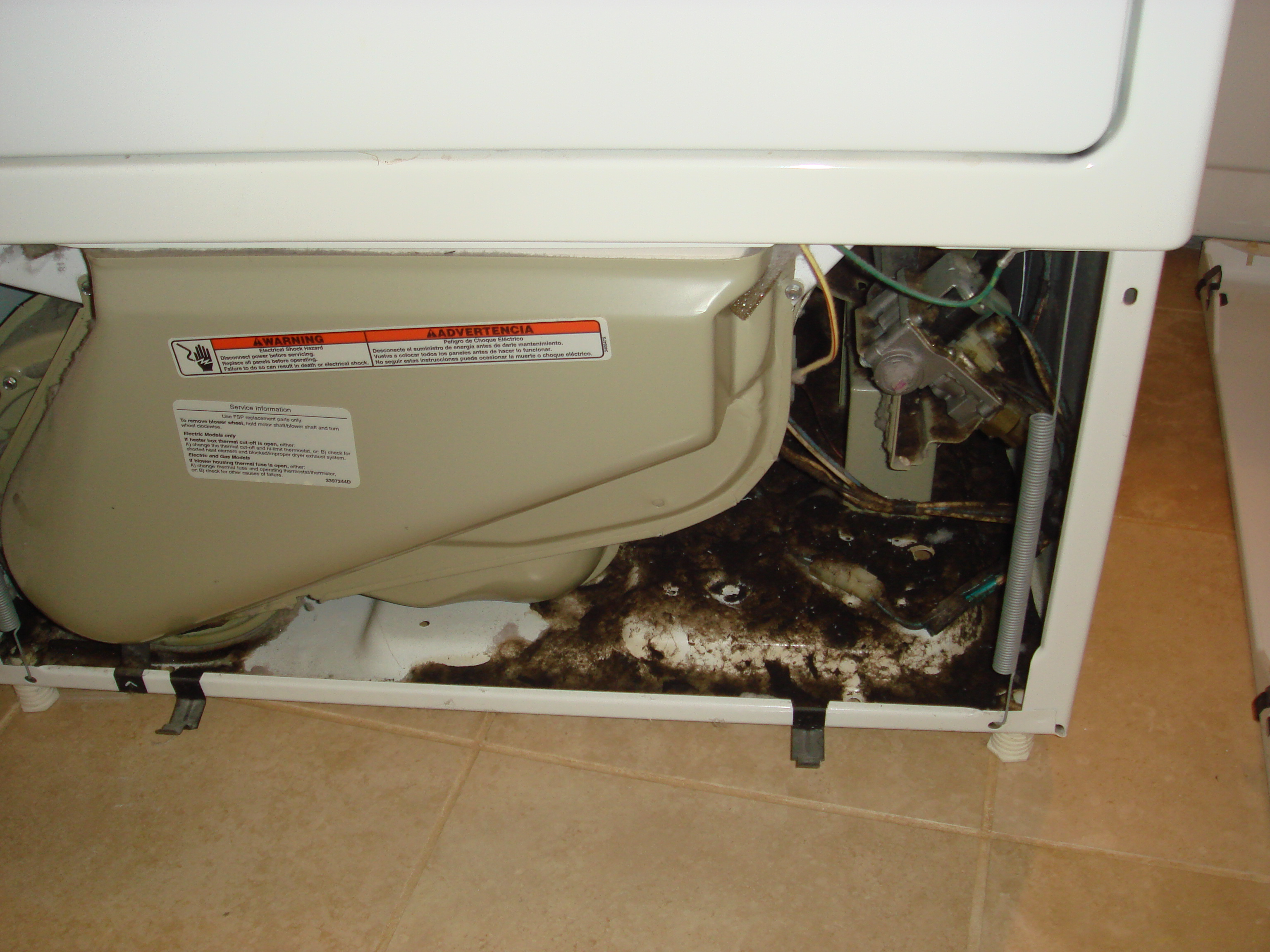 Burnt Dryer Chicagoland Air Duct Cleaning Indoor Air